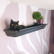 Cat Crown Wall Shelf Bed