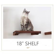 18 Inch Shelf - Wall Mounted for Cats
