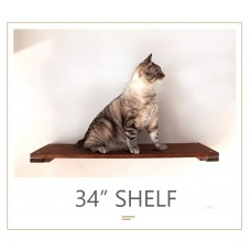 34 Inch Shelf - Wall Mounted for Cats